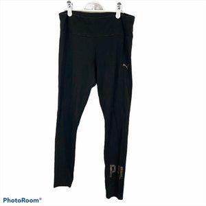PUMA Black Leggings